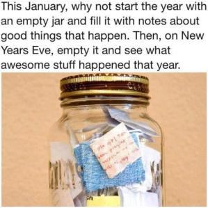 Be Thankful Jar Can Help Your Health